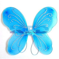 Firozy Butterfly Wings For Kids School Annual function/Theme Party/Competition/Stage Shows/Birthday Party Dress