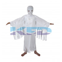 White Ghost Halloween Costume/California Costume For School Annual function/Theme Party/Competition/Stage Shows/Birthday Party Dress