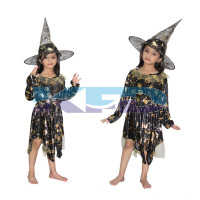 Witch Cosplay Costume/California Costume/Halloween Costume For School Annual function/Theme Party/Competition/Stage Shows Dress