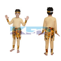Mowgli/Tribal Costume,Tribal Costume for School Annual function/Theme Party/Competition/Stage Shows Dress