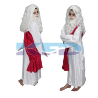 Rabindranath Tagore National Hero Costume For Kids School Annual function/Theme Party/Competition/Stage Shows Dress