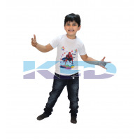 Spider T-shirt Costume For Kids/Holi day/School Annual function/Theme Party/Competition/Stage Shows/Birthday Party Dress