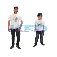 Play T-shirt Costume For Kids/Holi day/School Annual function/Theme Party/Competition/Stage Shows/Birthday Party Dress