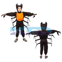 Crab Fancy Dress For Kids/Insect Costume For Kids/Lobster Costume For Kids/Theme Party/Competition/Stage Shows/Birthday Party Dress