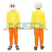 Patlu Fancy dress for kids,Cartoon Costume for Annual Function/Theme Party/Stage Shows/Competition/Birthday Party Dress