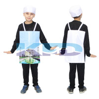 Taj Mahal Fancy Dress For Kids/Indian Fort Dress For kids/For Kids Annual function/Theme Party/Competition/Stage Shows/Birthday Party Dress