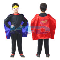 Wonder Girl Robe For Kids/California Costume For kids/Superhero Robe For kids/For Kids Annual function/Theme Party/Competition/Stage Shows/Birthday Party Dress