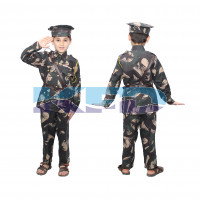 Indian Military Our Helper/National Hero Costume For Kids School Annual Function/Theme Party/Stage Shows/Competition Dress