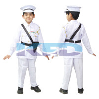 Indian Navy Our Helper/National Hero Costume For Kids School Annual Function/Theme Party/Competition/Stage Shows Dress