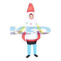 Rocket Fancy Dress For Kids/Object Fancy Dress For Kids/For Kids Annual function/Theme Party/Competition/Stage Shows/Birthday Party Dress