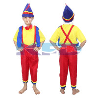 Pinokeyo Fancy dress for kids,Cartoon Costume for Annual function/theme Party /Stage Shows/Competition/Birthday Party Dress