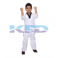 Taikando fancy dress for kids,Martial Art/Fighting Costume for School Annual function/Theme Party/Competition/Stage Shows Dress