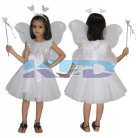 White Butterfly Fancy dress for kids,Insect Costume for School Annual function/Theme Party/Competition/Stage Shows Dress