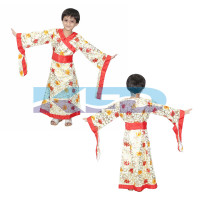 Japanese Kimono Traditional Wear Fancy Dress for kids,Global Costume for Annual function/Theme Party/Competition/Stage Shows Dress