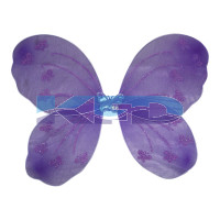 Purple Butterfly Wings For Kids School Annual function/Theme Party/Competition/Stage Shows/Birthday Party Dress