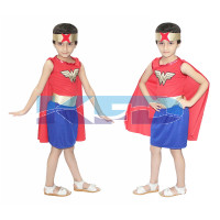 Wonder Girl fancy dress for kids,Super Hero Costume for Annual function/Theme Party/Competition/Stage Shows/Birthday Party Dress