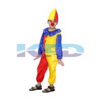 Joker Fancy dress for kids,Cartoon Costume for Annual function/Theme Party/Stage Shows/Competition/Birthday Party Dress