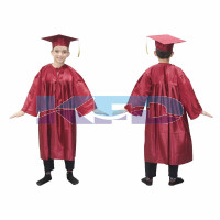 Graduation Gown Meherun/Degree Gown Fancy Dress For Kids,Costume For Convocation/Annual Function/Theme Party/Competition/Stage Shows Dress