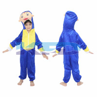 Hattori Cartoon Fancy dress for kids,Costume for School Annual function/Theme Party/Stage Shows/Competition/Birthday Party Dress
