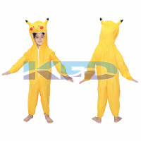 Pikachu Fancy dress for kids,Diseny Cartoon Costume for Annual function/Theme Party/Stage Shows/Competition/Birthday Party Dress