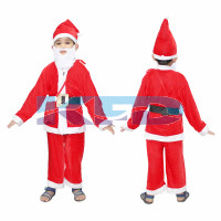 Santa Clause fancy dress for kids,Christmas day Costume for Annual function/Theme Party/Competition/Stage Shows/Birthday Party Dress