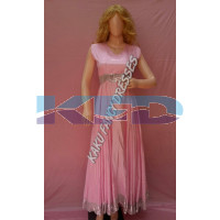 Pink Gown Heavy Fancy Dress