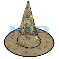 Witch Hat For School Annual function/Theme Party/Competition/Stage Shows/Birthday Party Dress/Halloween costume